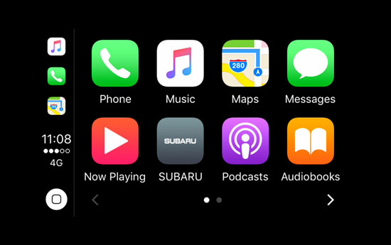 Apple Car Play<sup>4</sup> und Android Auto™<sup>5</sup>