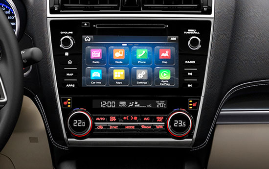 Apple CarPlay<sup>6</sup> und Android Auto™<sup>7</sup>