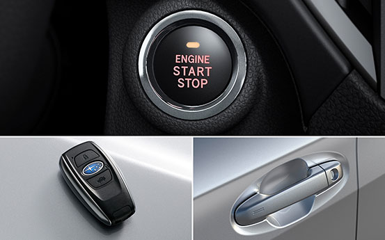 Keyless-Access-System mit Start-/Stopp-Knopf